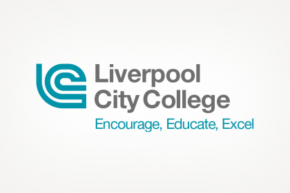 Brand development logo for Liverpool City College