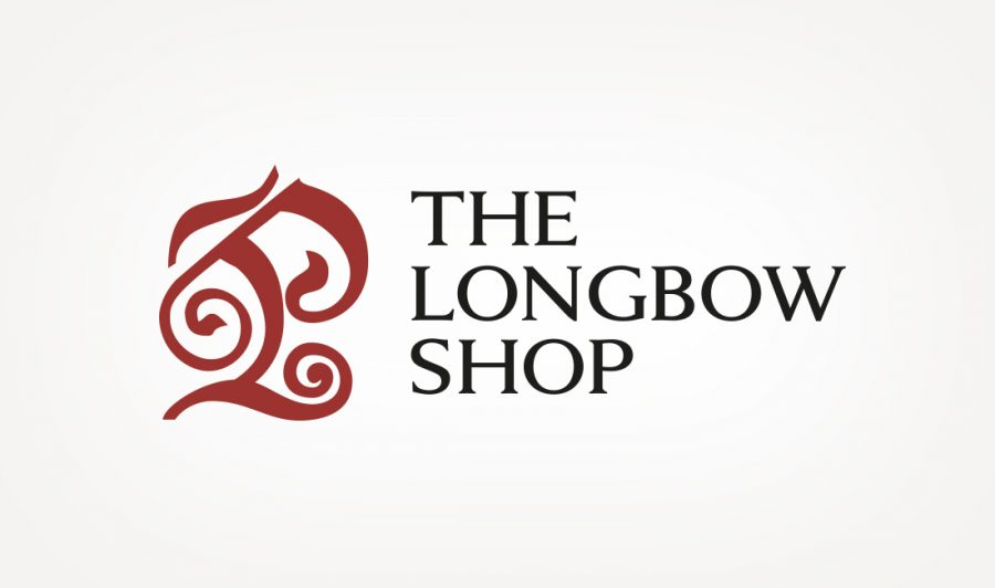 Business logo design for The Longbow Shop