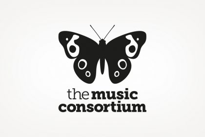 Brand identity design for The Music Consortium
