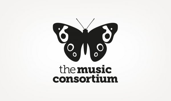 Brand identity design for The Music Consortium