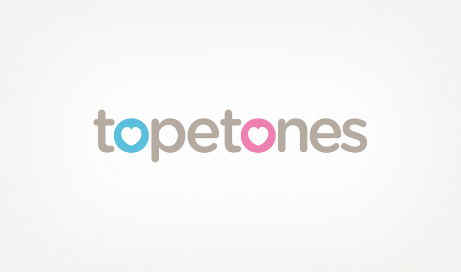Company logo design for Topetones
