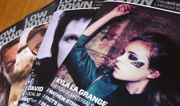 Magazine design covers for Lowdown